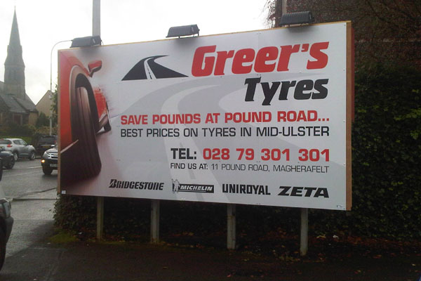 Digital Printing & Banners | Tower Signs Ballymena